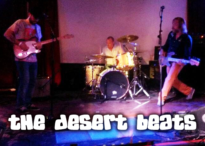 Jess Pruitt, Bass Player for The Desert Beats